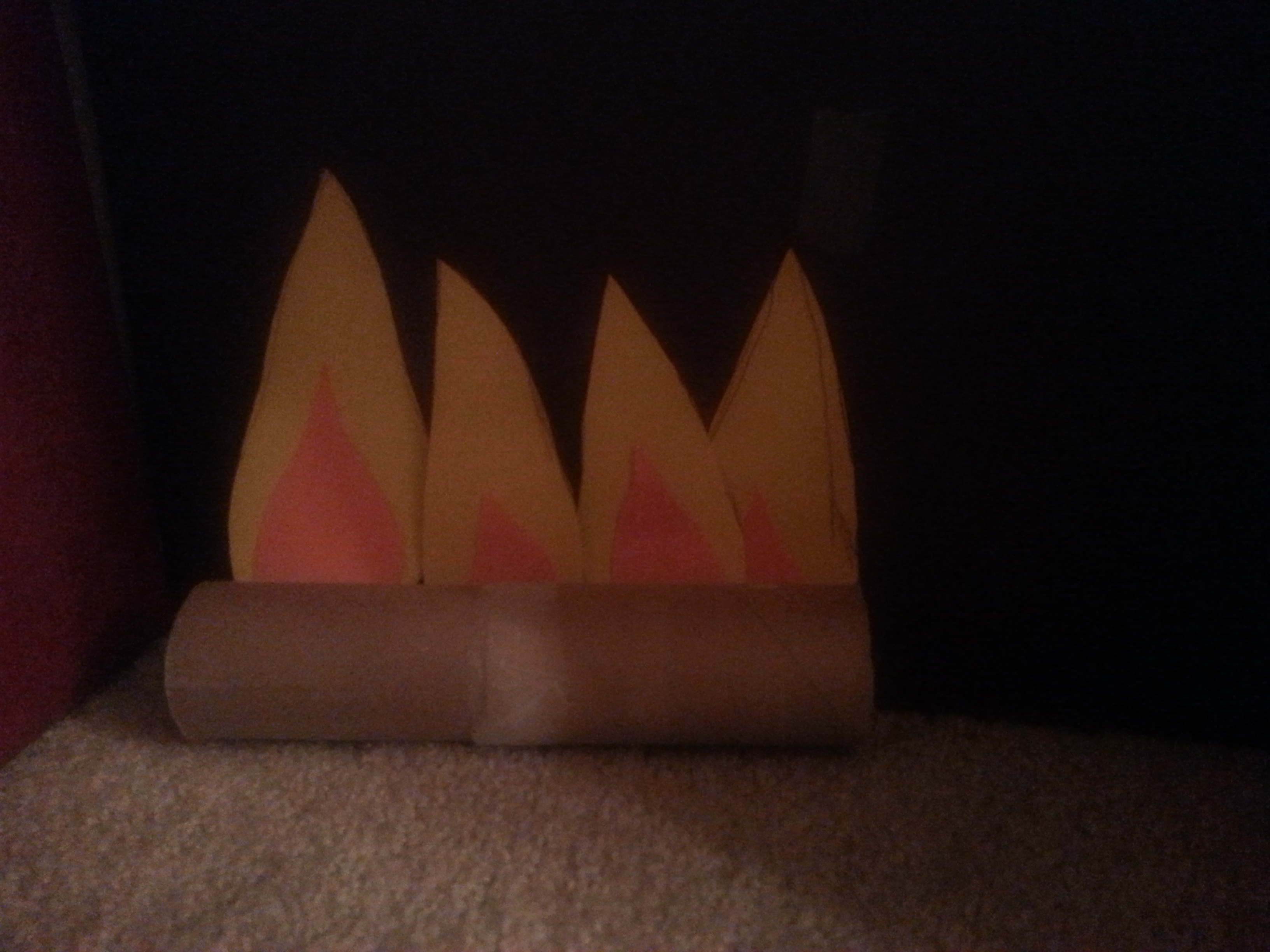cardboard fireplace for kids a moment for mom